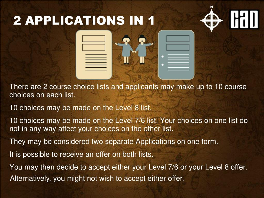 2 APPLICATIONS IN 1