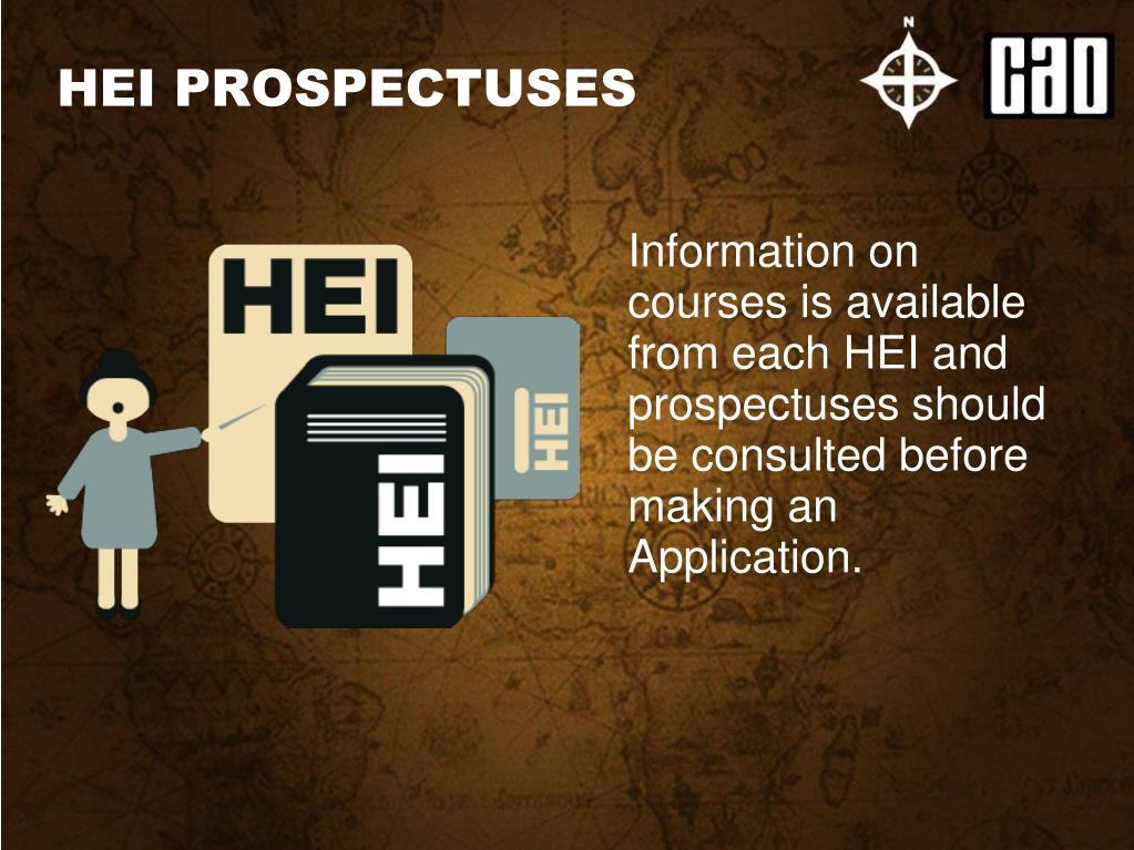 HEI PROSPECTUSES