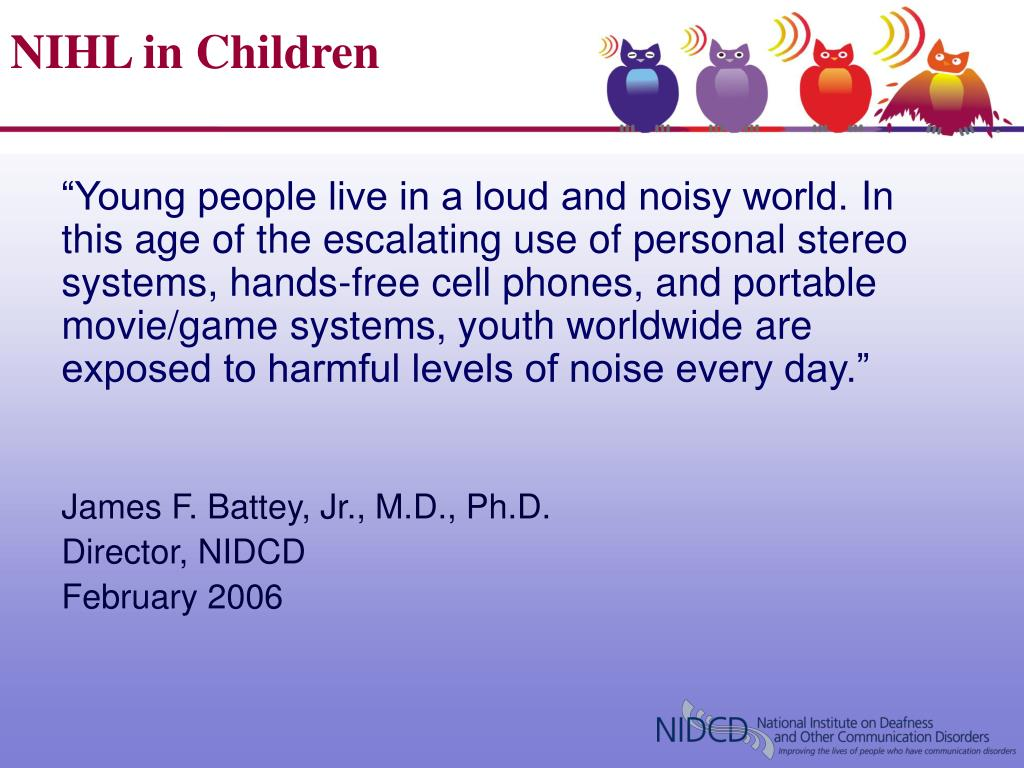 NIHL in Children