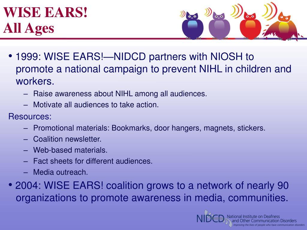 WISE EARS!