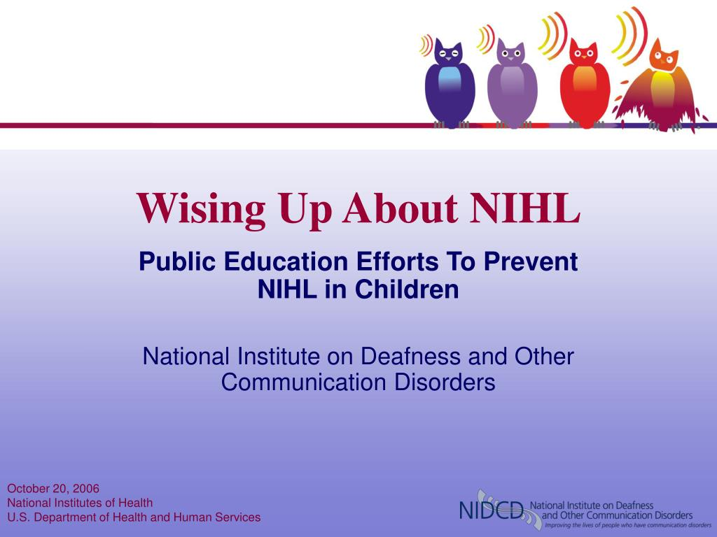 wising up about nihl l.