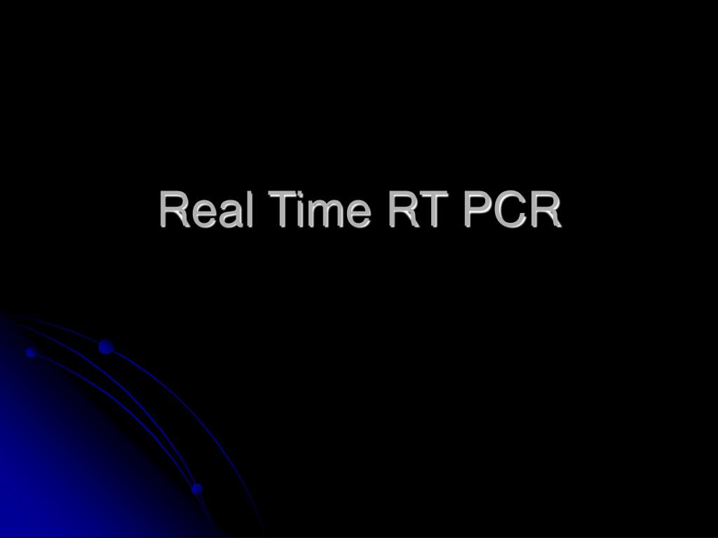 real time rt pcr l.