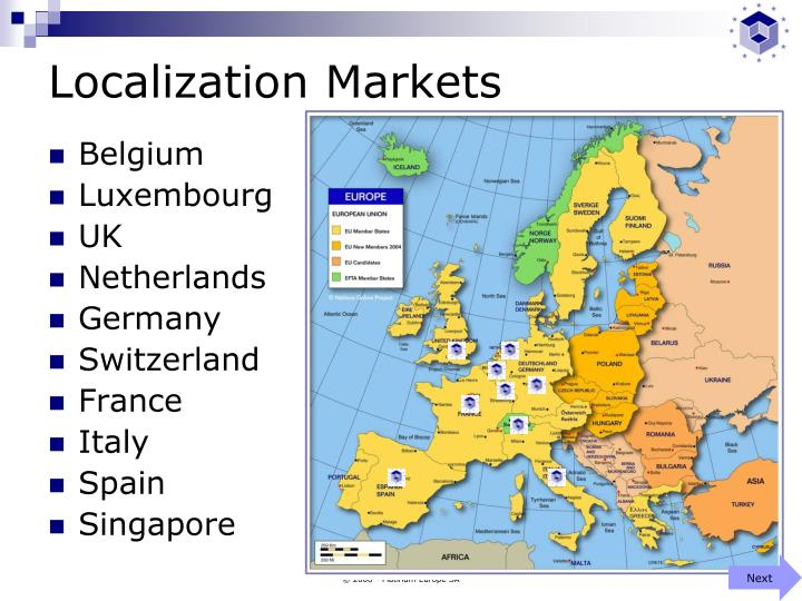 Localization markets