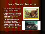 more student resources