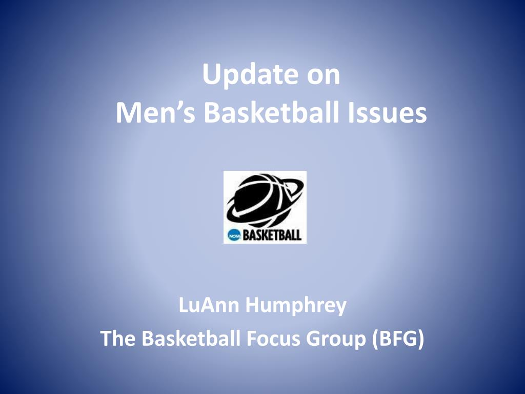 update on men s basketball issues l.