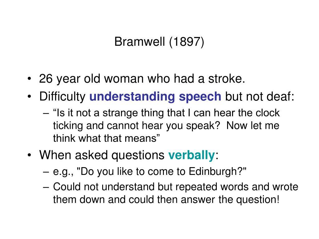 Bramwell (1897)