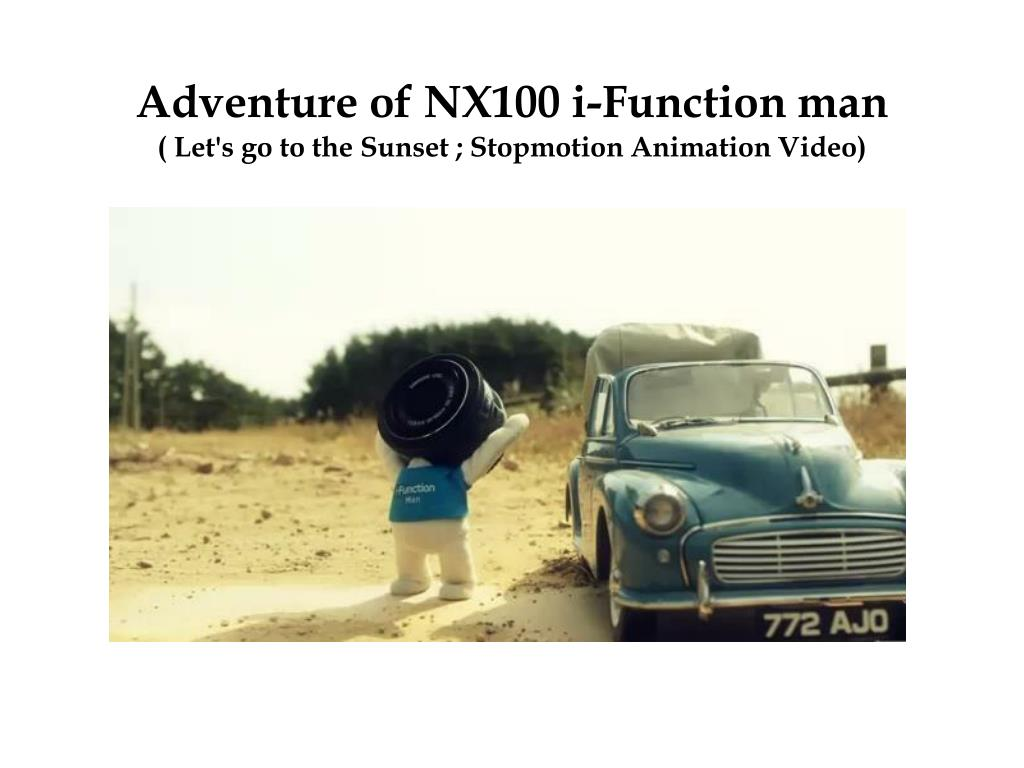 Adventure of NX100 i-Function man