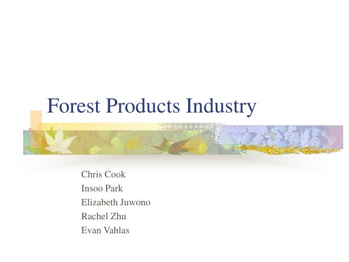 forest products industry n.