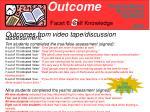 outcomes13