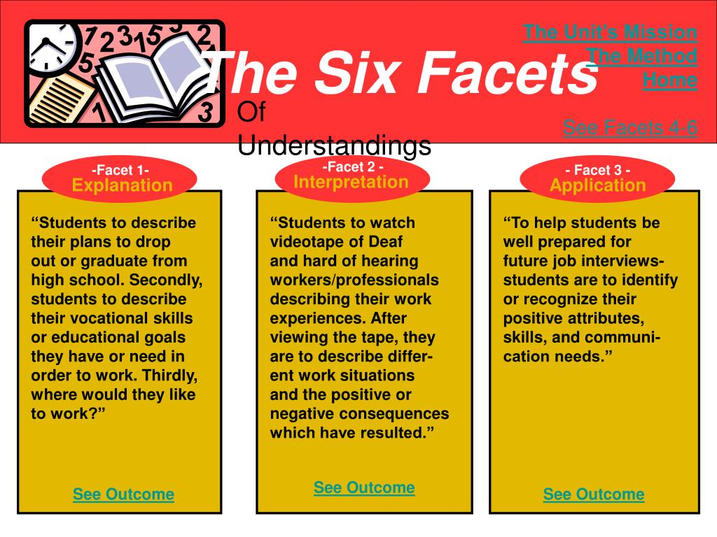 The Six Facets
