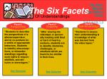 the six facets5