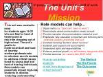 the unit s mission