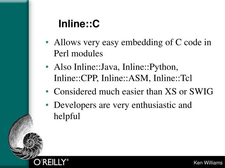 Inline::C