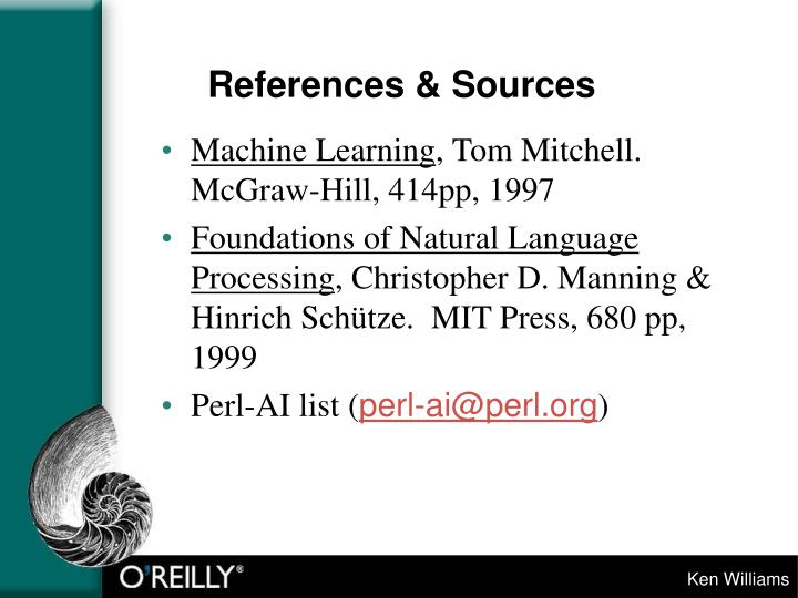 References sources