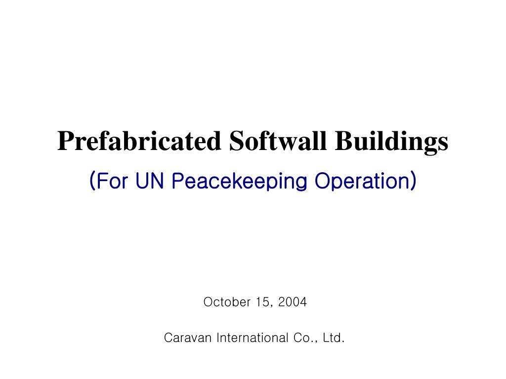Prefabricated Softwall Buildings