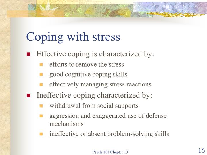 ineffective coping skills