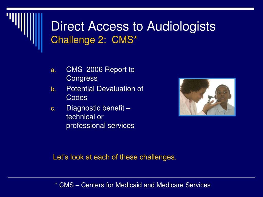 Direct Access to Audiologists