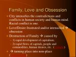 family love and obsession