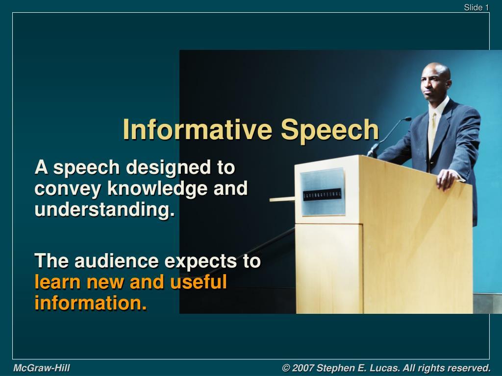 Ppt Informative Speech Powerpoint Presentation Free Download Id 739490