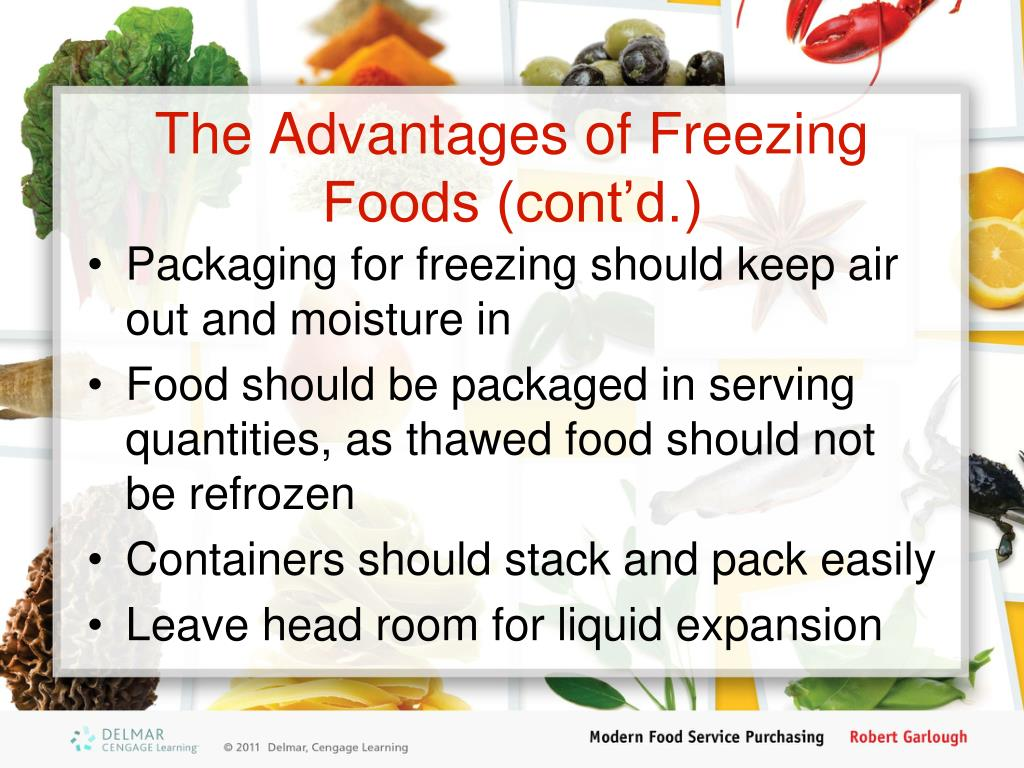 Frozen Foods Should Be Thawed At Room Temperature