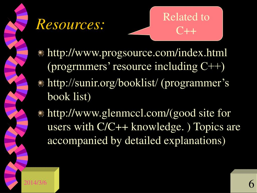 Related to C++