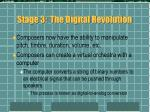 stage 3 the digital revolution8