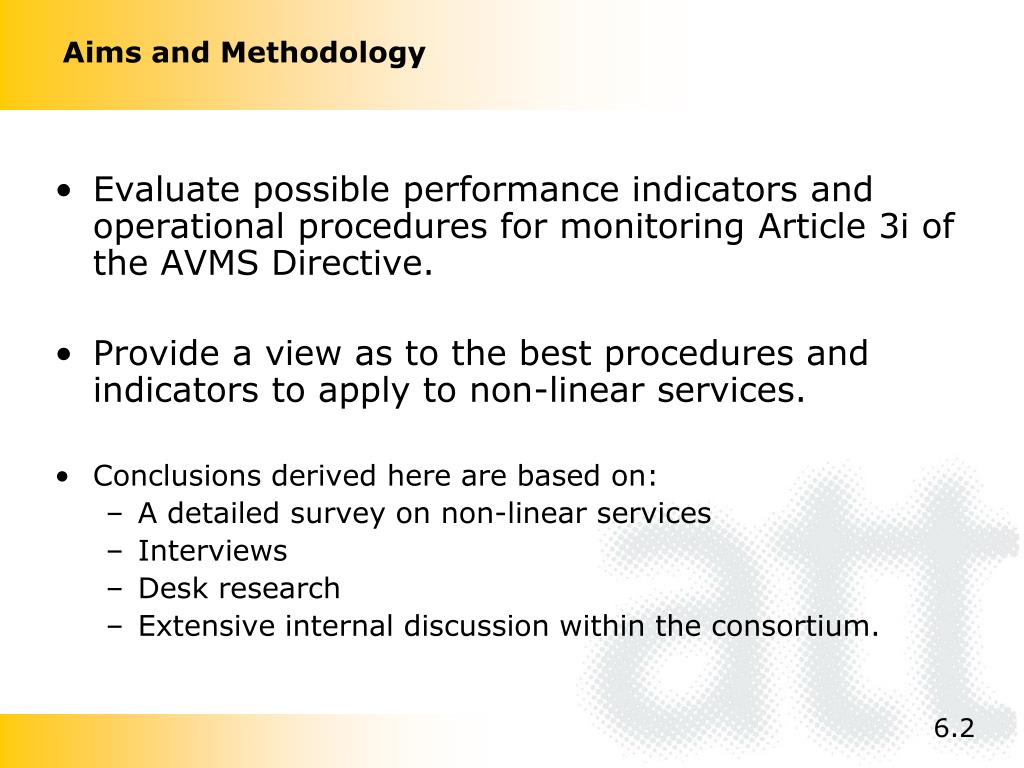 Aims and Methodology