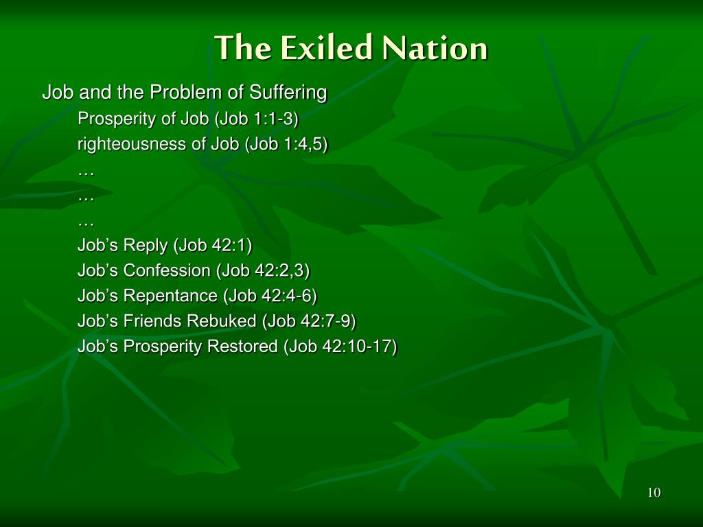 The Exiled Nation
