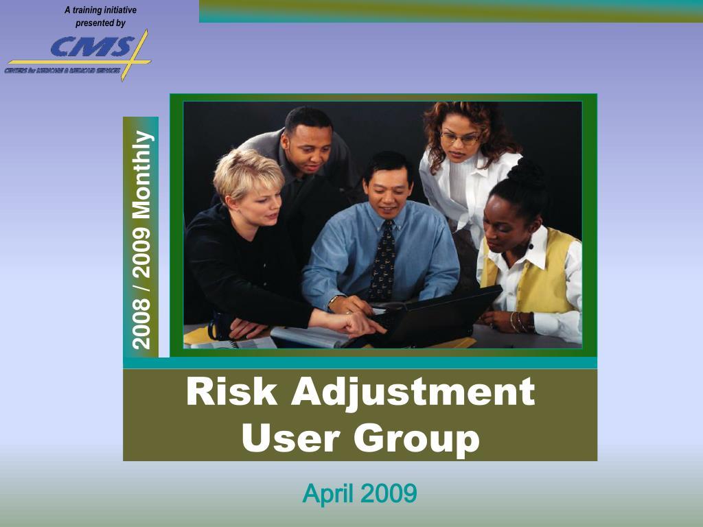risk adjustment user group l.