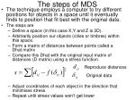 the steps of mds