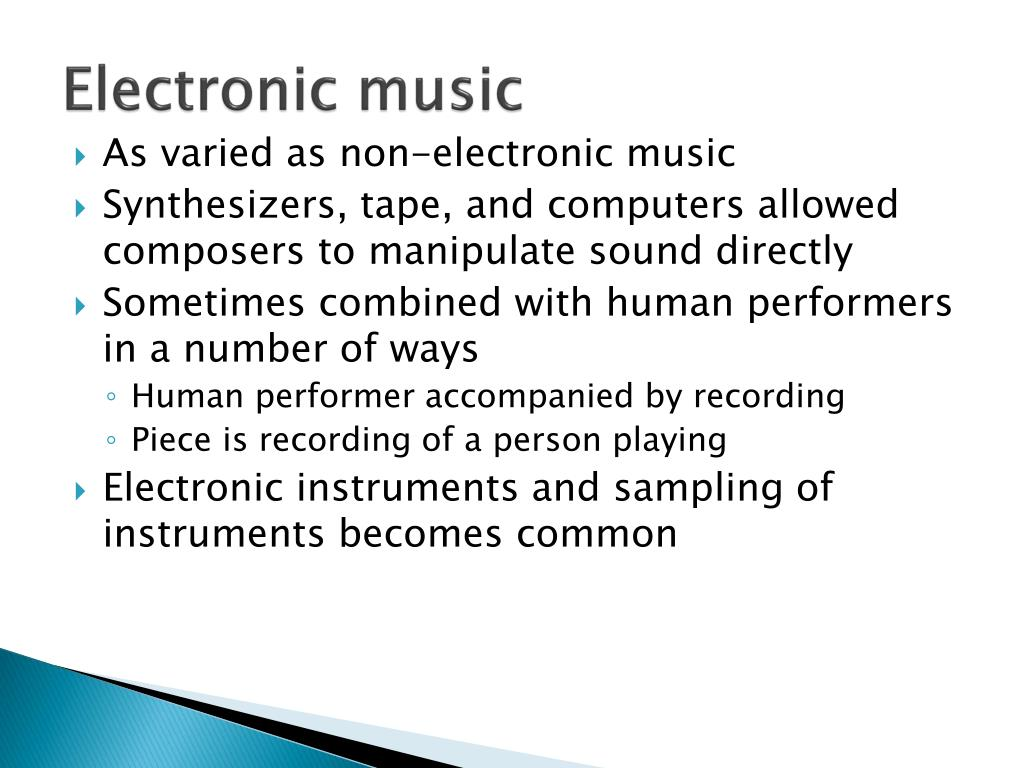 electronic and non electronic ways of