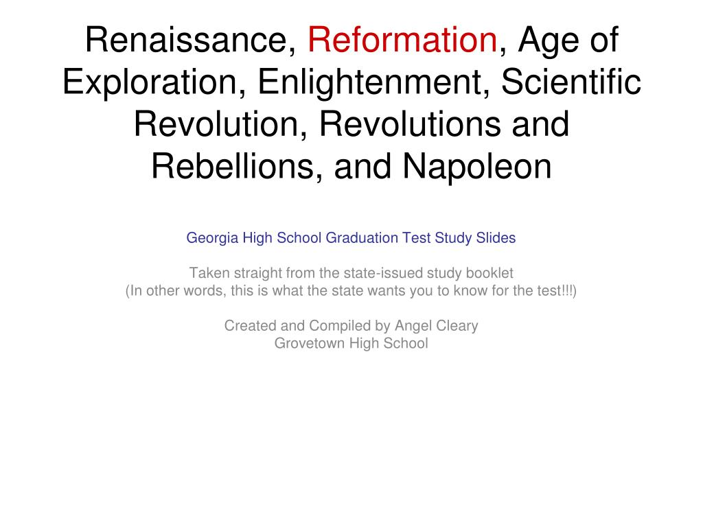 protestant reformation and scientific revolution essay The scientific revolution and the enlightenment the renaissance, reformation, and age of exploration with the protestant reformation initiated by martin luther.