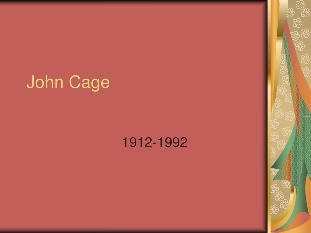 john cage l.