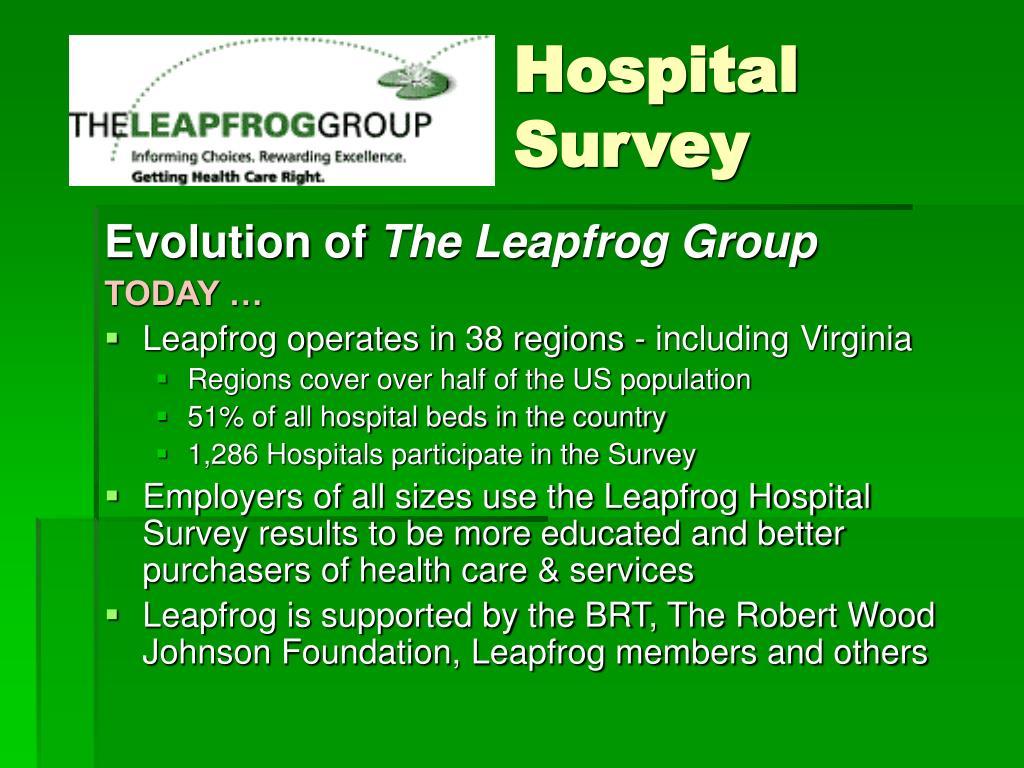 Hospital Survey
