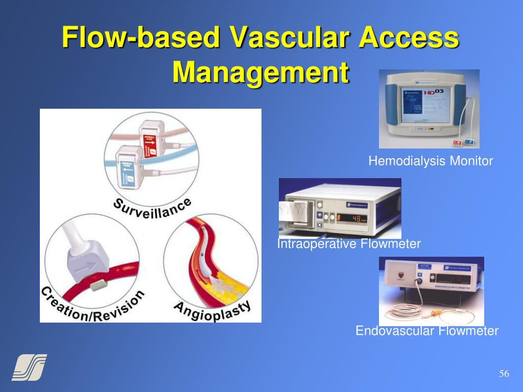 Flow-based Vascular Access Management