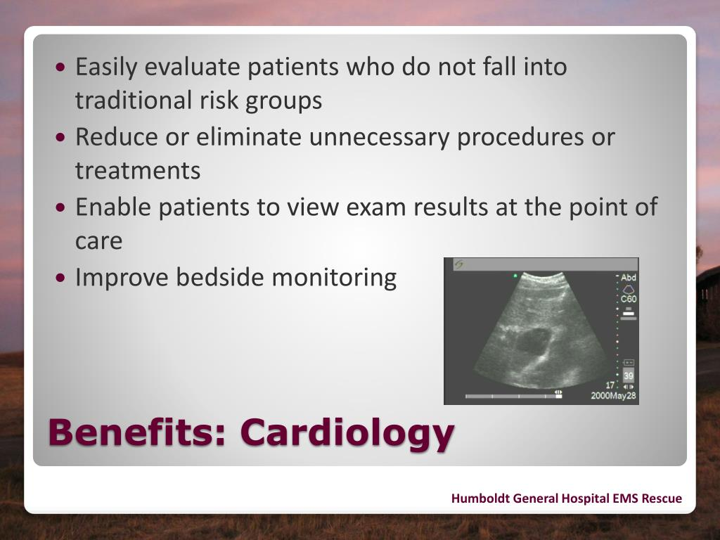 Easily evaluate patients who do not fall into traditional risk groups