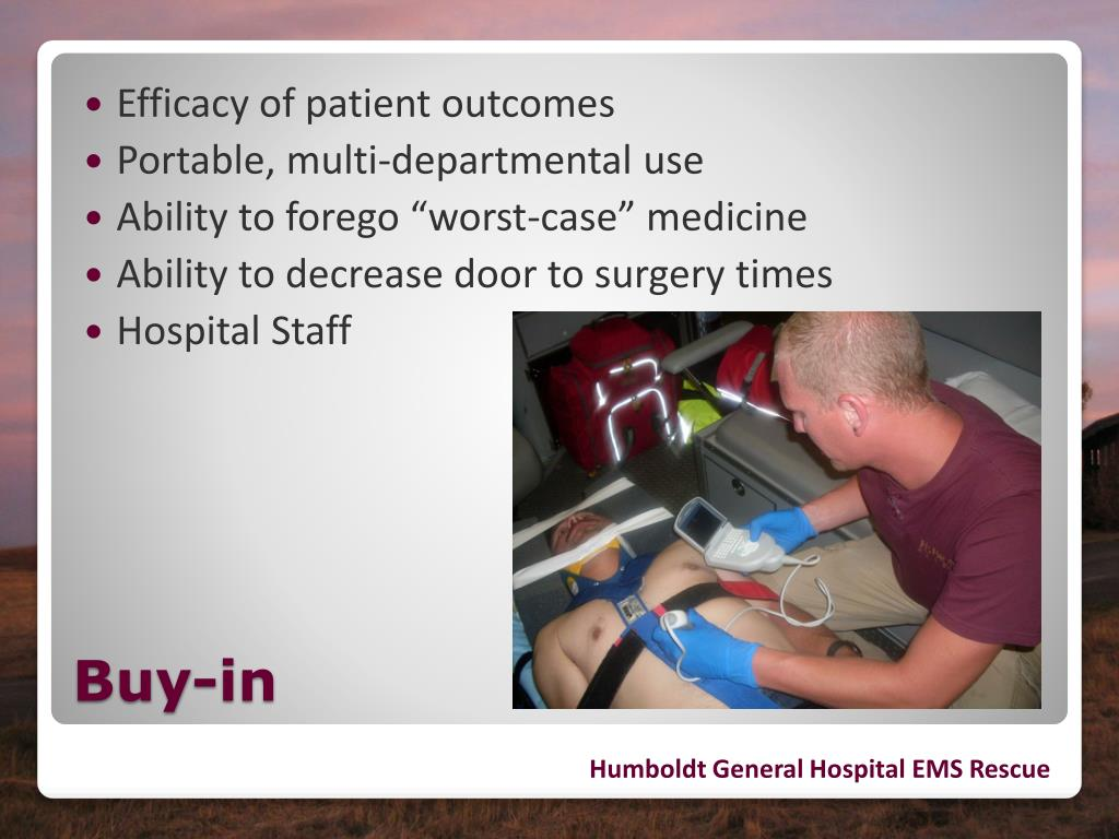 Efficacy of patient outcomes