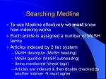 searching medline10