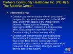partners community healthcare inc pchi the stoeckle center28