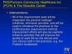 phs partners community healthcare inc pchi the stoeckle center29