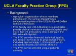 ucla faculty practice group fpg
