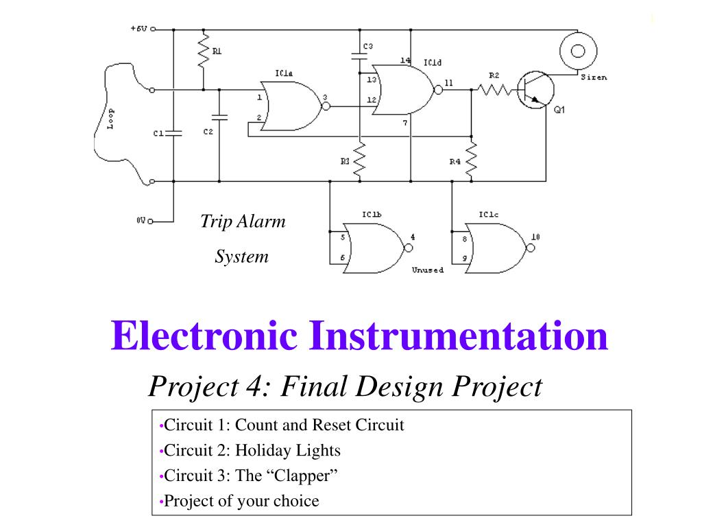 Electronic Project Circuit