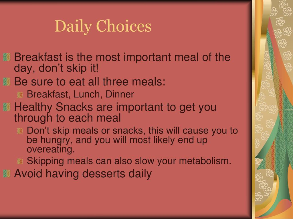 Daily Choices