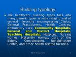building typology