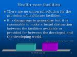 health care facilities20