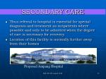 secondary care13