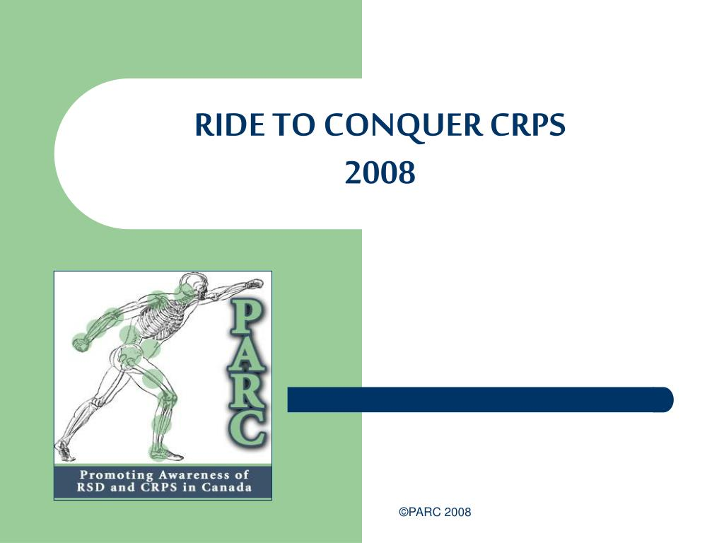 RIDE TO CONQUER CRPS