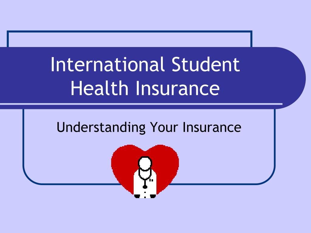 international student health insurance l.