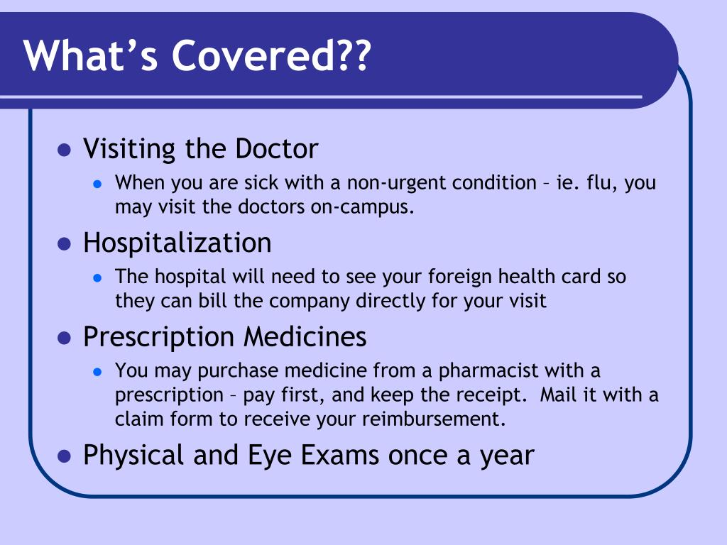 What's Covered??