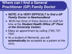 where can i find a general practitioner gp family doctor